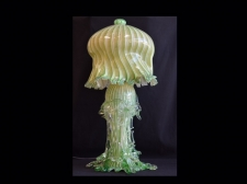 Green & Gold Contemporary Jellyfish Lamp