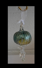 Aqua Marine Jellyfish Ornament Suncatcher