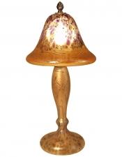 Iridescent Gold Lamp - L04 - Hand Blown Glass Lamp