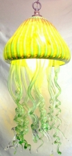 Jellyfish pendant light