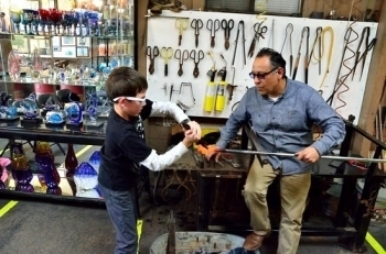 Private Glassblowing Class for 1